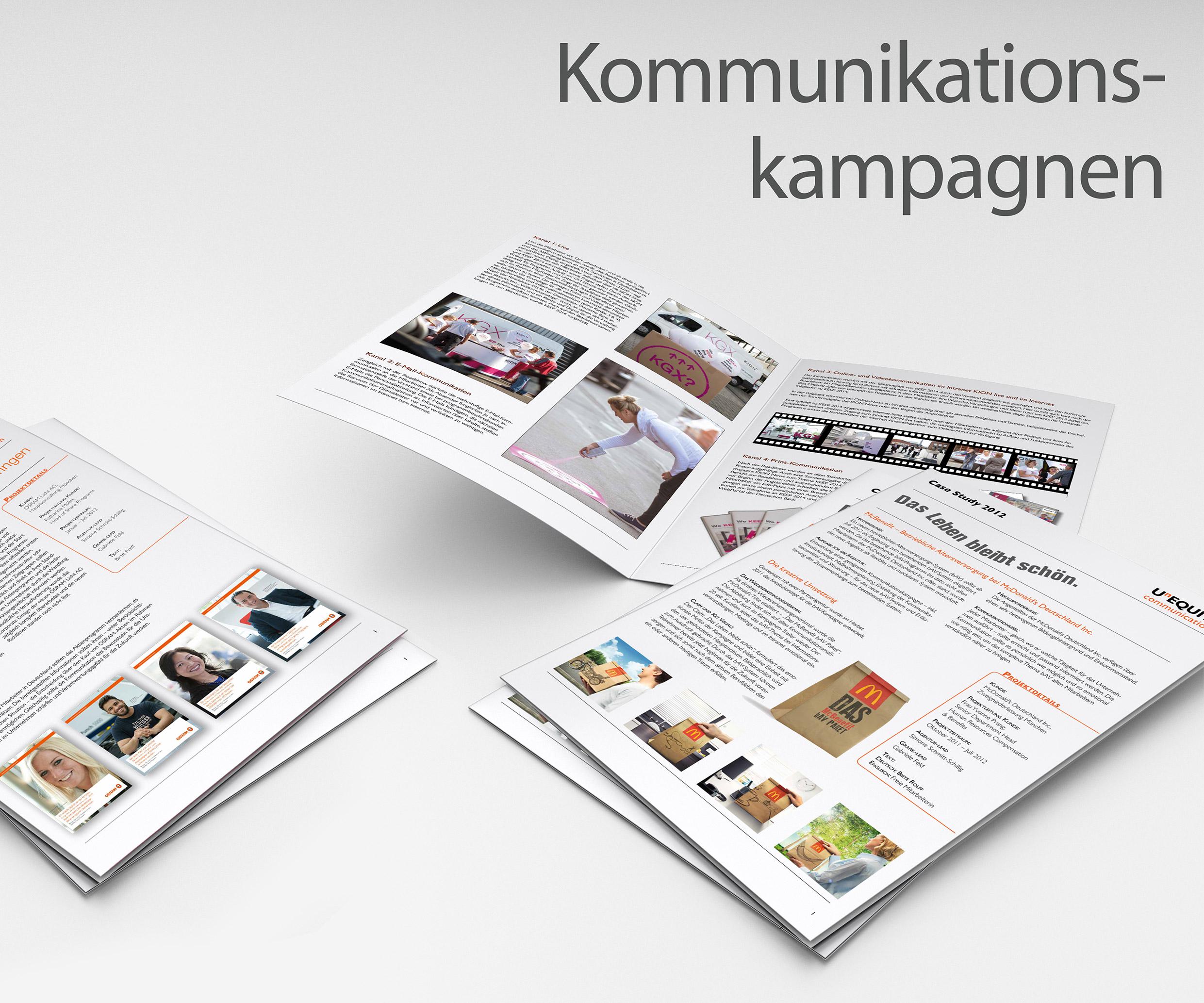 Kommunikation Kampagne